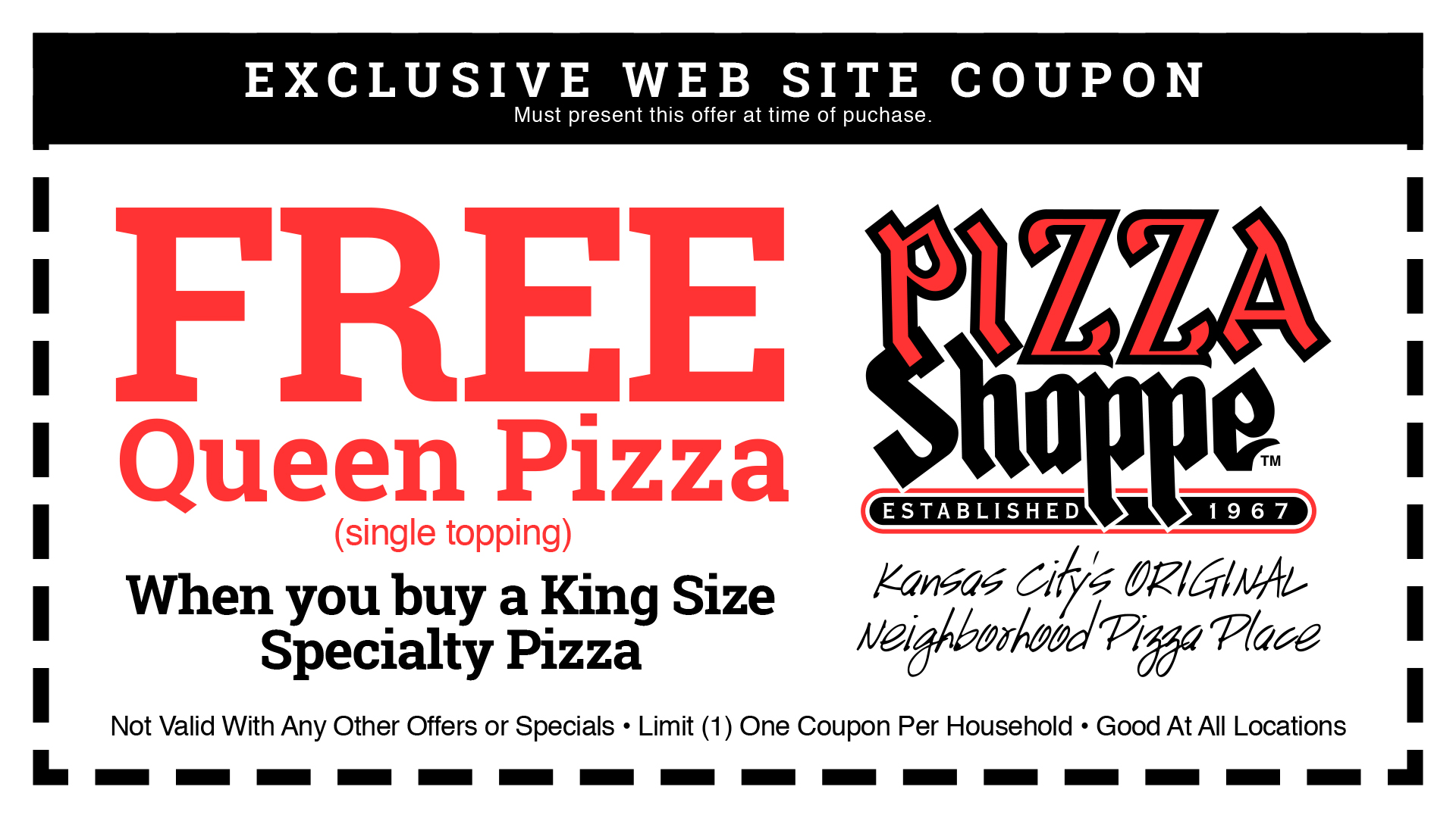 Offers Pizza Shoppe